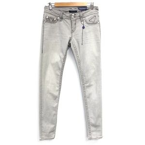 Vigoss   The Chelsea Skinny Grey Jeans NWT